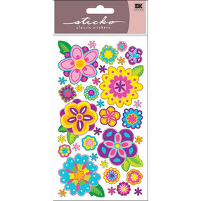 Blooming Color Stickers_52-00953