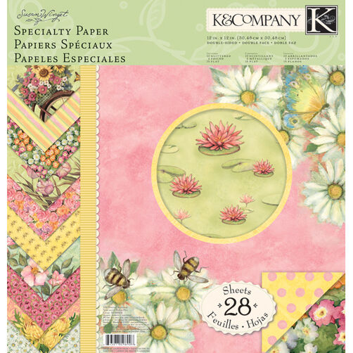 Susan Winget Spring Blossom 12x12 Specialty Paper Pad_30-598928