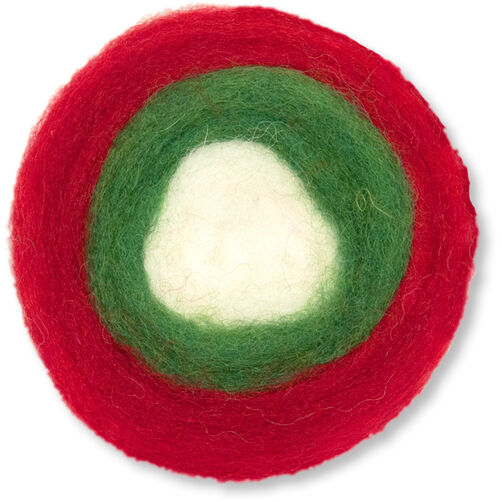 Holiday Wool Roving Roll, Needle Felting_72-08222