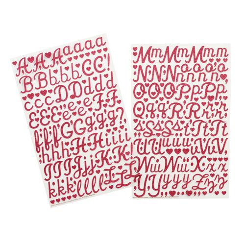 Glitter Alphabet Stickers _41-11002