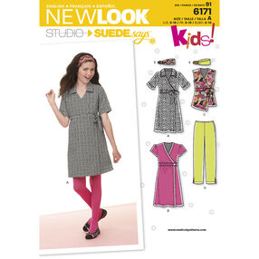 New Look Pattern 6171 Girl's Dresses. New Look Studio by SUEDEsays