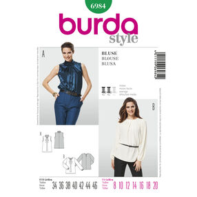 Burda Style Pattern 6984 Blouse
