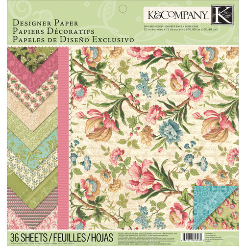 Merryweather 12x12 Designer Paper Pad_30-656260