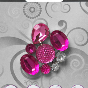 Simplicity Gemstone Cluster Embellishment