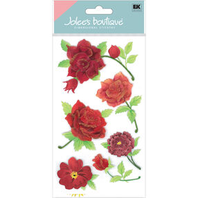 Colorful Roses Stickers_50-50023