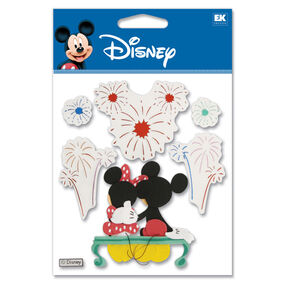 Fireworks Mickey Dimensional Stickers_DJBV12