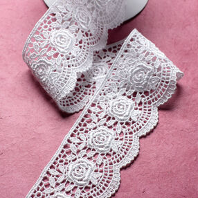 "3 ft. of 1-3/4"" Scallop Rose Venice Lace"