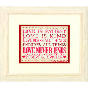 Love Is Patient in Counted Cross Stitch_70-65144