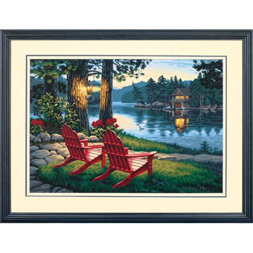Adirondack Evening, Paint by Number_91357