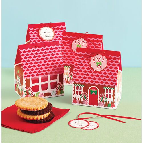Wonderland Gingerbread House Treat Boxes_48-30154