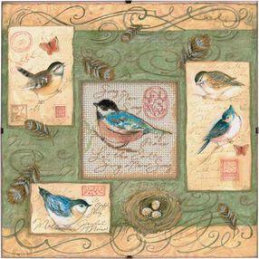 Birds & Swirls, Counted Cross Stitch_73526