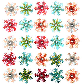Snowflake Mini Repeat Stickers_50-21584