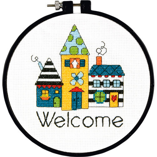 Welcome, Counted Cross Stitch_72-73765