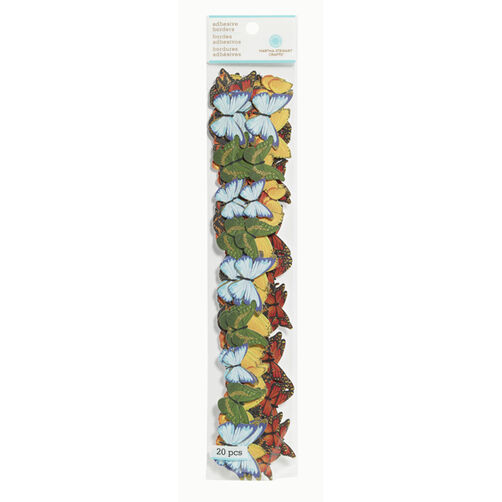 Butterfly Die-Cut Adhesive Borders _41-41018