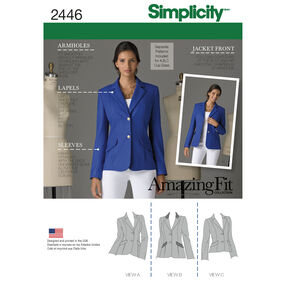 Simplicity Pattern 2446 Misses' Jackets