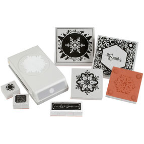 Winter Snowflake Stamp and Punch Set_54-92009