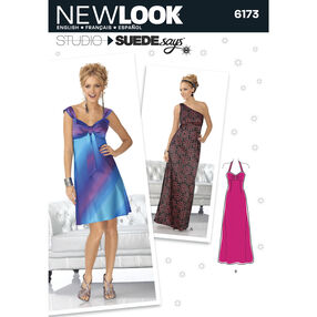 New Look Pattern 6173 Misses' Special Occasion Dress