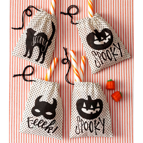 Animal Masquerade Burlap Treat Bags_48-20247