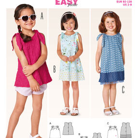 Burda Style Pattern 9416 Toddlers