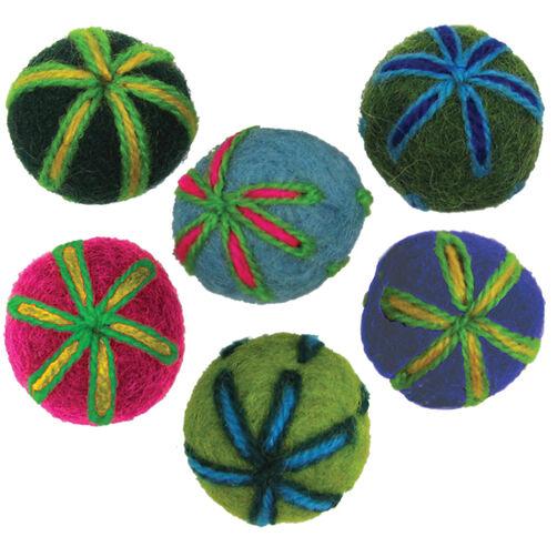 Felt Embroidered Balls_72-73833