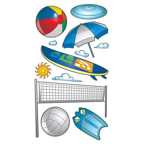 Beach Sports Classic Stickers_SPCLS199