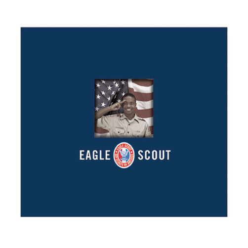Eagle Scout 12x12 Post-Bound Scrapbook with Window_528215