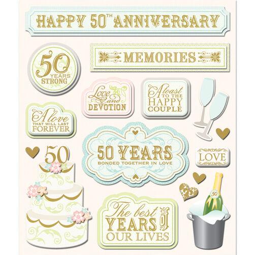50 Year Anniversary Sticker Medley_30-587601
