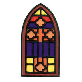 Stained Glass Window Embellishment_JJCG014B