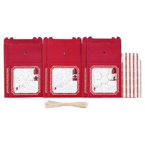 Snowflake Treat Boxes Kit_48-30332