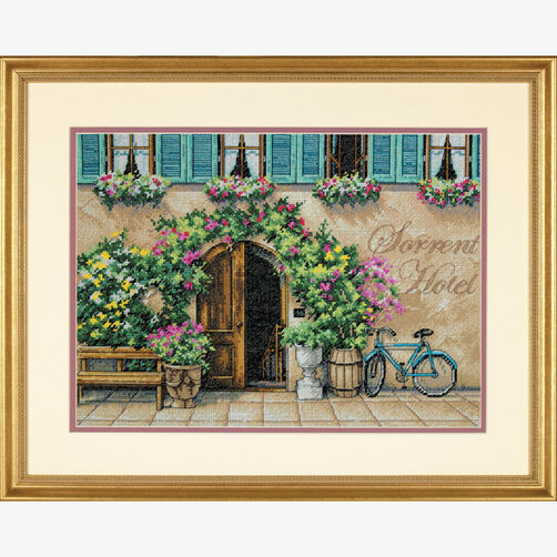 Sorrento Hotel, Counted Cross Stitch_70-35270
