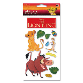 Lion King Dimensional Stickers_DCGIJ26