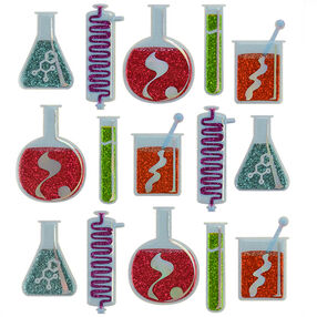 Beakers and Test Tube Repeat Stickers_50-21688