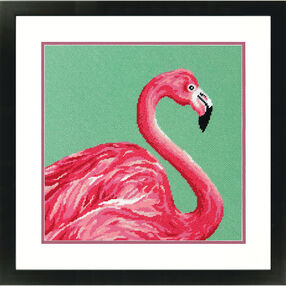 Pink Flamingo, Needlepoint_71-20086