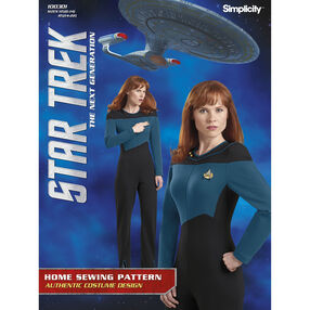 Simplicity Pattern 100301 Misses' Star Trek Suit