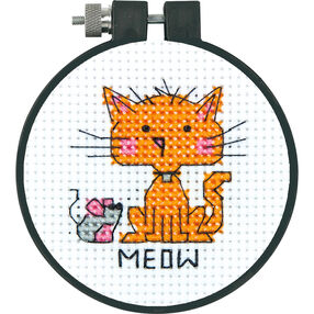 Meow, Counted Cross Stitch_72-74487