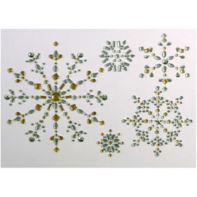 Snowflake Bling Stickers_50-50820