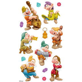 Seven Dwarfs Dimensional Stickers_51-50037