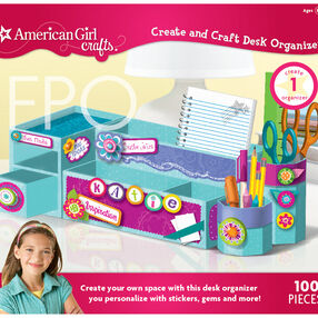 American Girl Create and Craft Desk Organizer