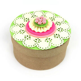 Doily Floral Box Topper