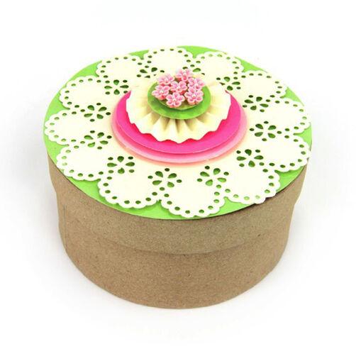 Doily Floral Box Topper