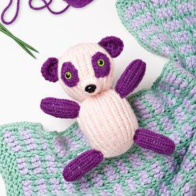 Loom Knit Panda