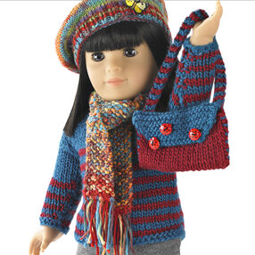 "Knit and Crochet Accessories for 18"" (46cm) Doll"