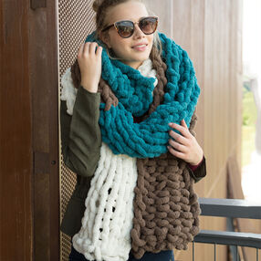 Super Duper Knit Scarf