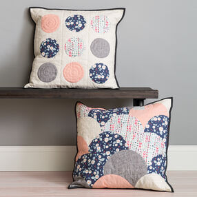 Circle Cut Ruler Pillow
