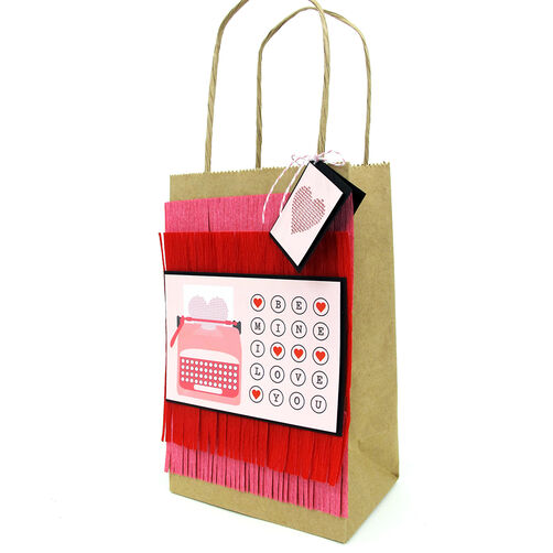 Fringed Gift Bag