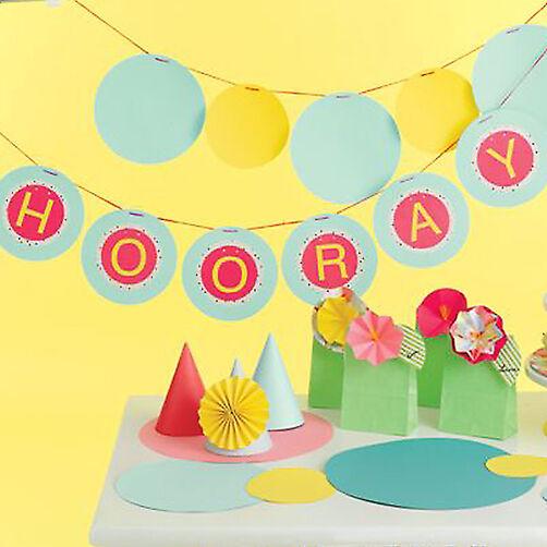 Hooray Circle Banner