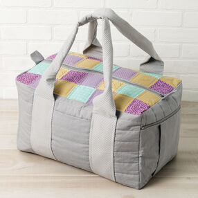 Leftie-Rightie Square Overnight Bag
