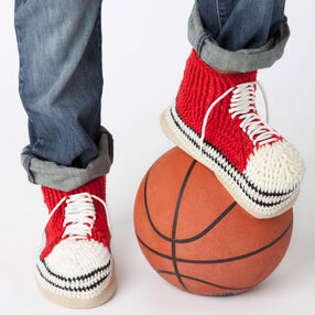 High-Top Slipper Socks