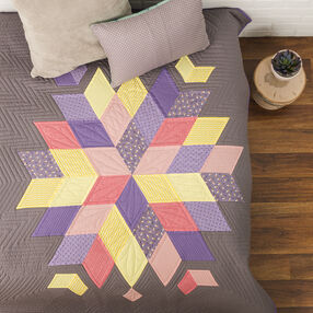 60-Degree Diamond Quilt