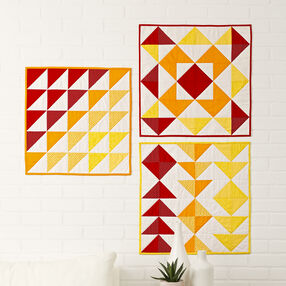Three Easy Angle Wall Hangings